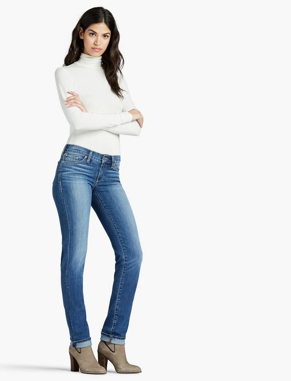 SWEET STRAIGHT LEG JEAN IN FAULTLESS, image 2
