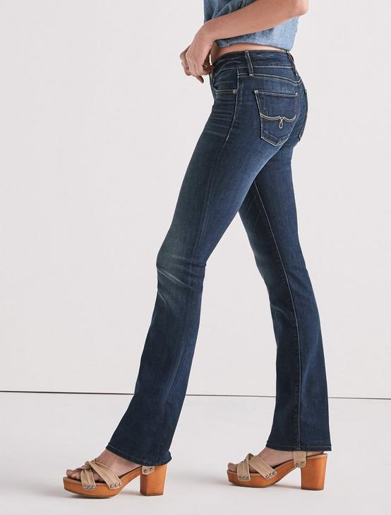 LOLITA MID RISE BOOTCUT JEAN IN SAND HILL, SAND HILL, productTileDesktop
