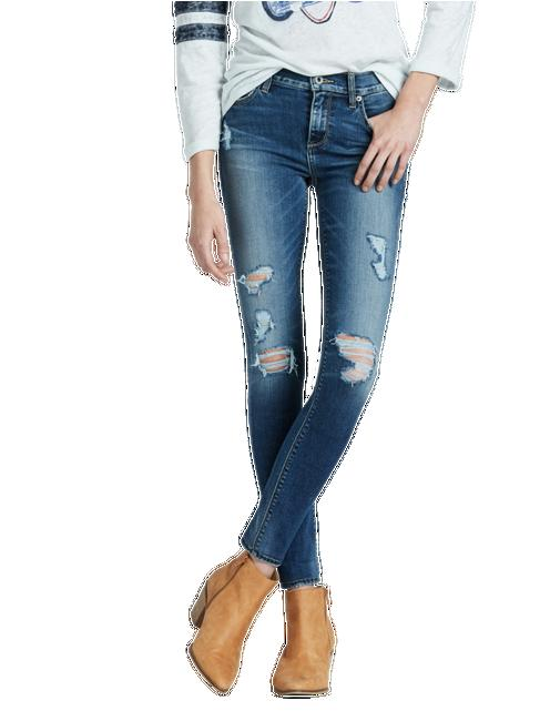 BROOKE MID RISE LEGGING JEAN IN HONEST,