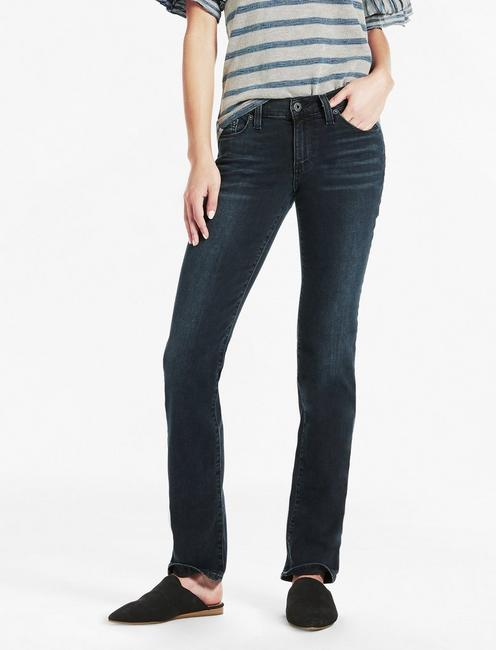 SWEET MID RISE STRAIGHT LEG JEAN IN ROAMER,
