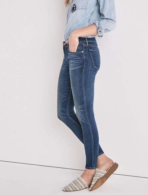 Lucky Stella Low Rise Skinny Jean In Sandy Oaks