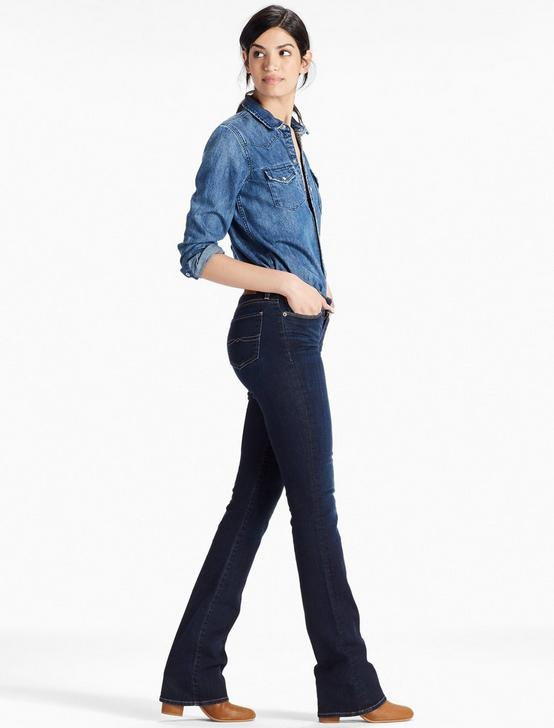 SWEET MID RISE BOOT JEAN, TWILIGHT BLUE, productTileDesktop