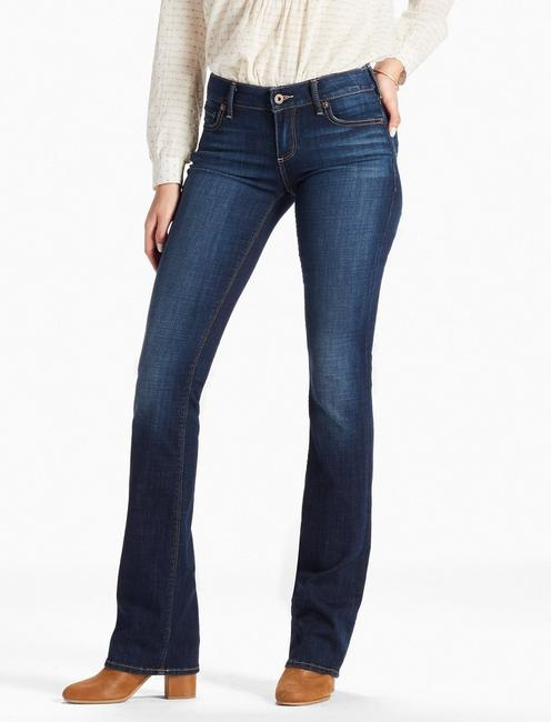 LOLITA MID RISE BOOTCUT JEAN IN LINDEN,