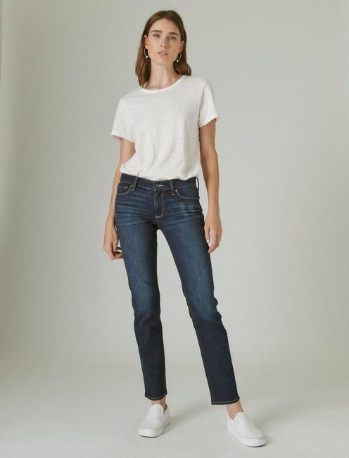 SWEET STRAIGHT LEG JEAN IN TWILIGHT BLUE, TWILIGHT BLUE