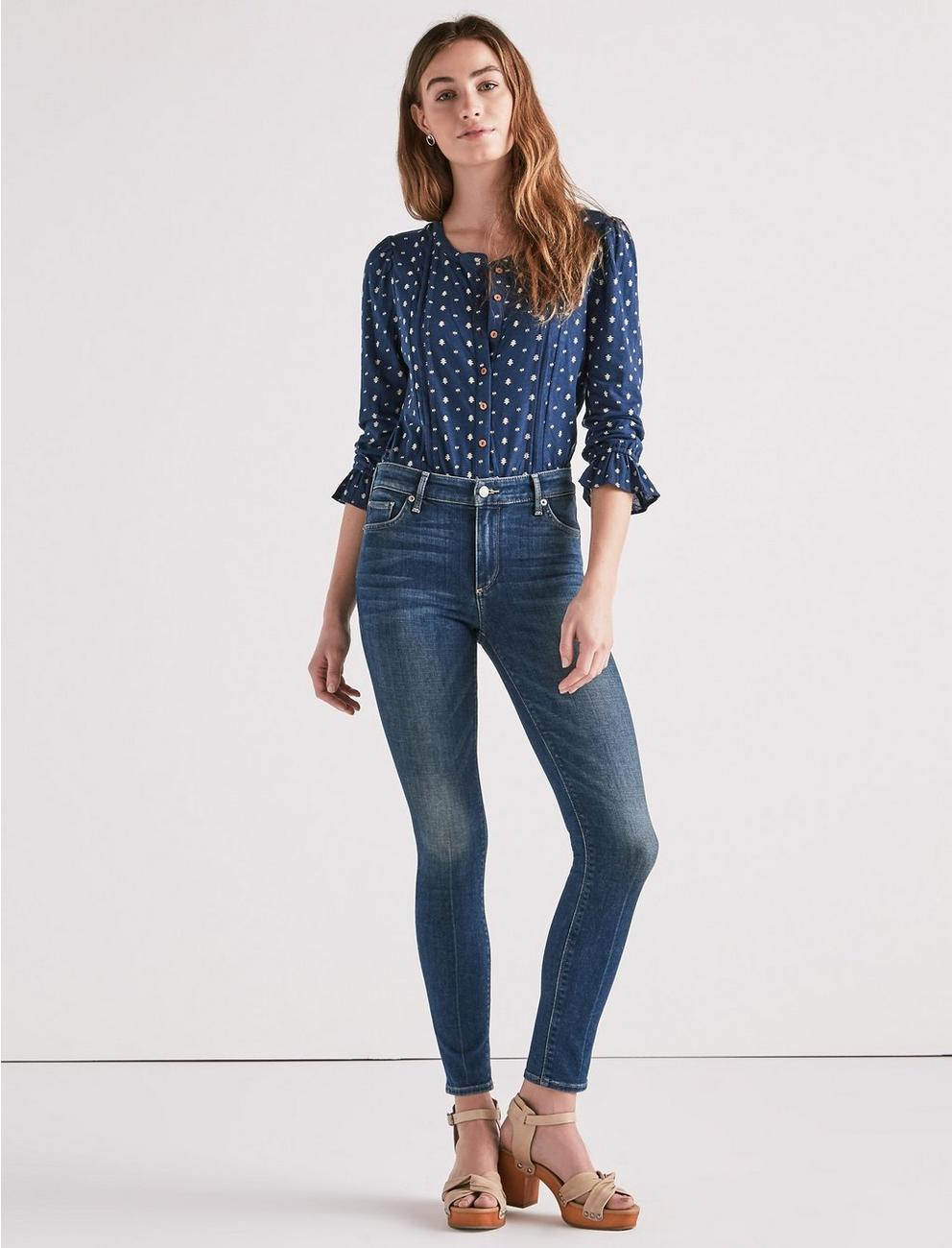 BRIDGETTE HIGH RISE SKINNY JEAN IN LEAGUE CITY, LEAGUE CITY