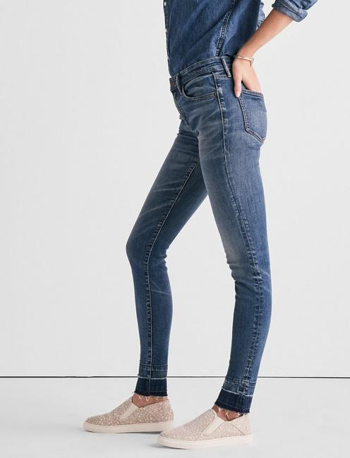 AVA MID RISE LEGGING JEAN WITH EXTENDED RELEASE,