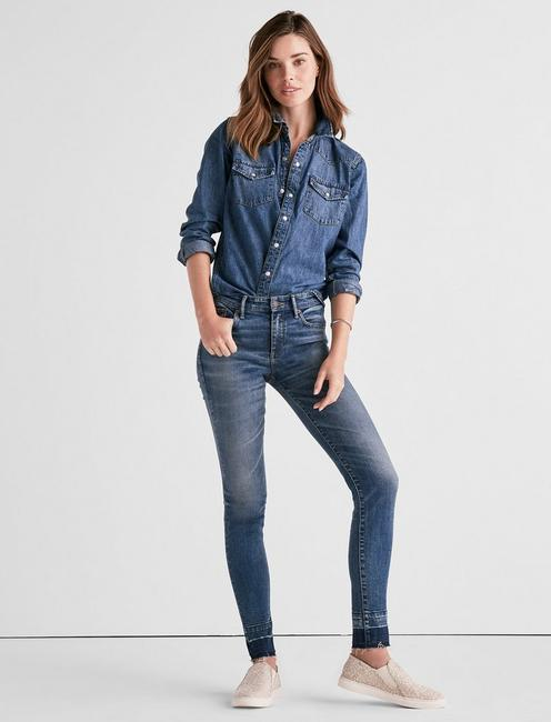 AVA MID RISE LEGGING JEAN WITH EXTENDED RELEASE, NELSON