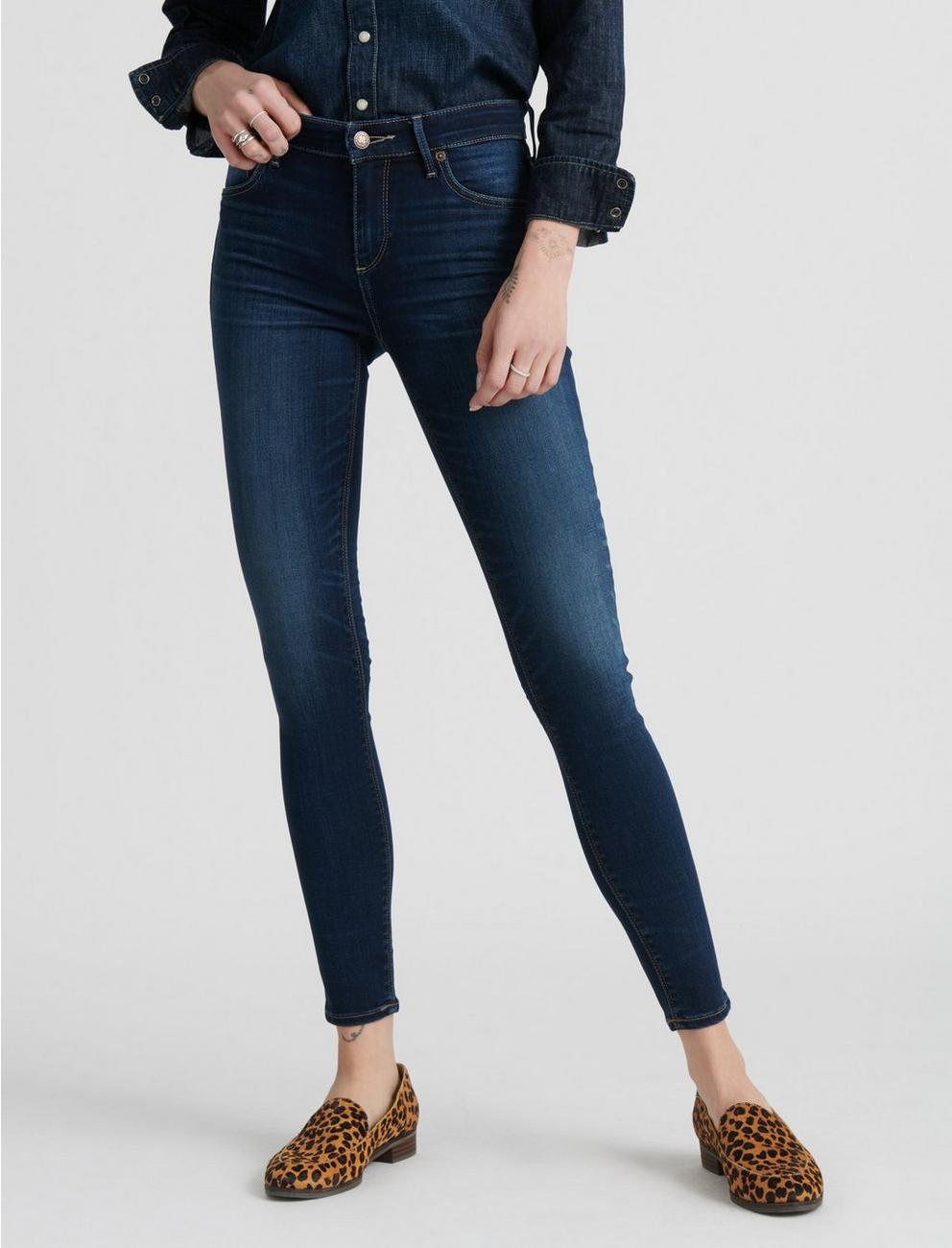 MID RISE AVA SUPER SKINNY JEAN, FAYETTE SPRINGS