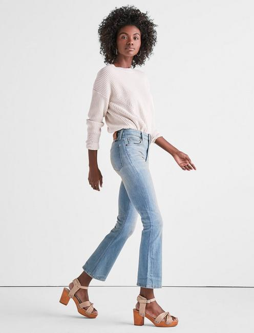 BRIDGETTE HIGH RISE CROPPED BOOT JEAN IN SEACLIFF, SEACLIFF