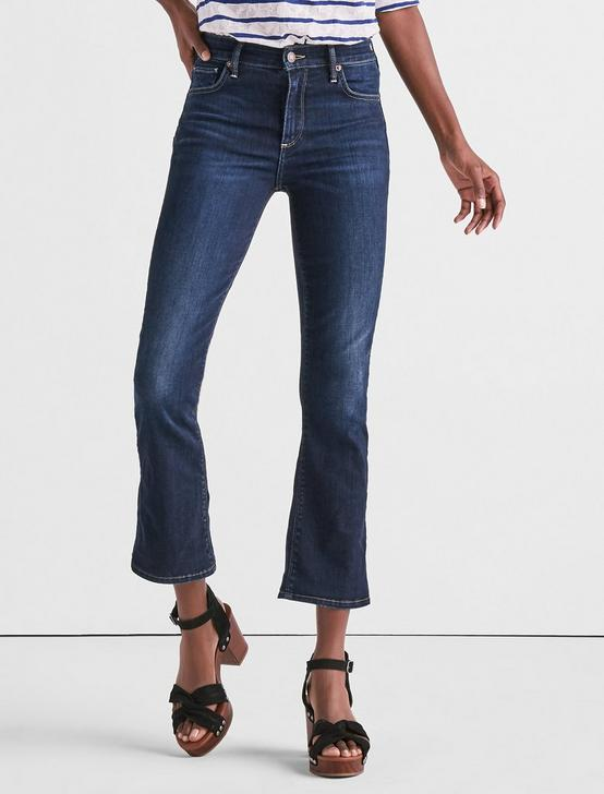 Bridgette Cropped Boot Jean In Twilight Blue