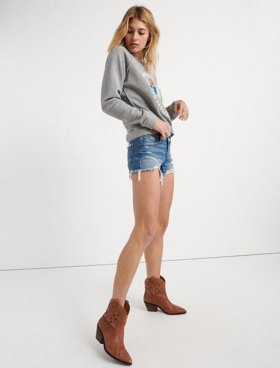 Cut Off Jean Short In Berga