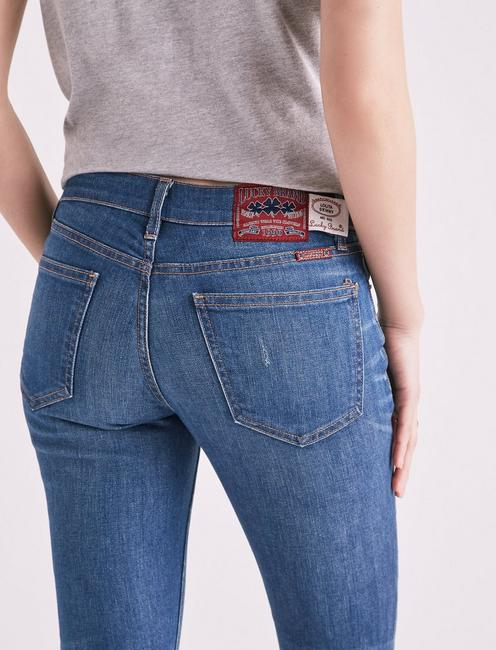 MADE IN L.A. LOLITA MID RISE SKINNY JEAN IN TAYLOR, TAYLOR