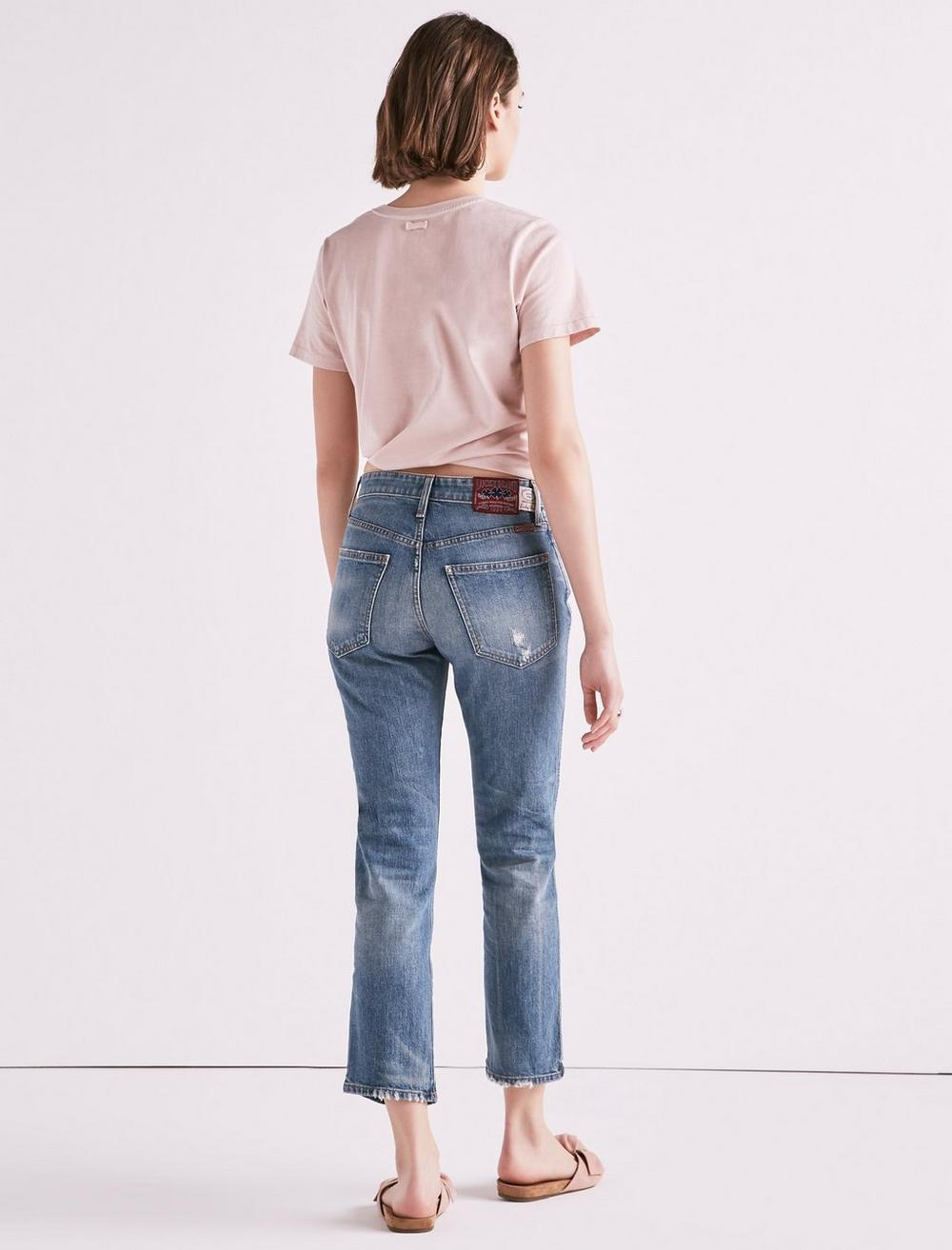 MADE IN L.A. LUCKY PINS HIGH RISE JEAN IN WILKINS, image 3