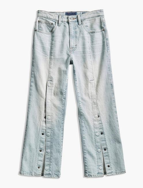 LUCKY PINS HIGH RISE JEAN WITH SNAPS, NORWOOD