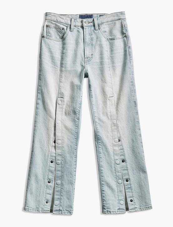 LUCKY PINS HIGH RISE JEAN WITH SNAPS
