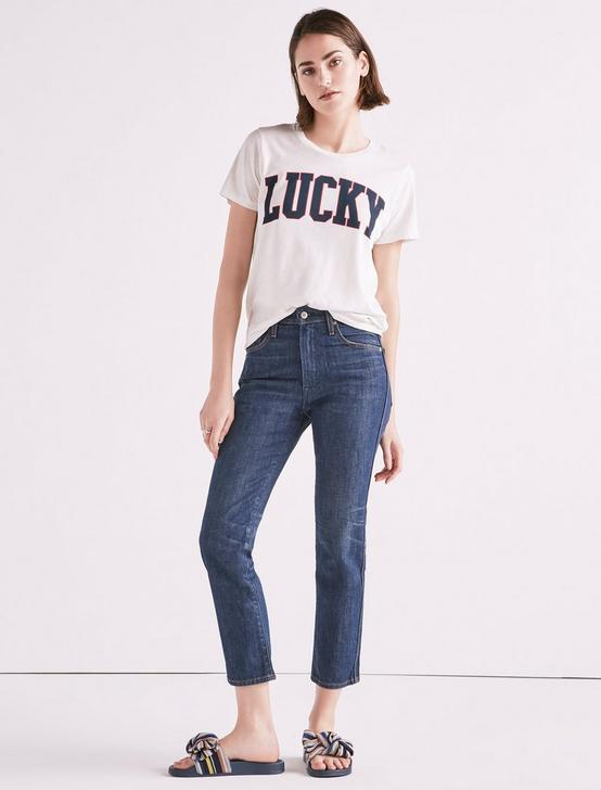 MADE IN L.A. LUCKY PINS HIGH RISE JEAN IN STARK, STARK, productTileDesktop
