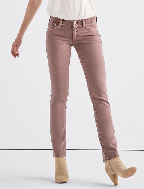 Sweet Mid Rise Straight Jean,
