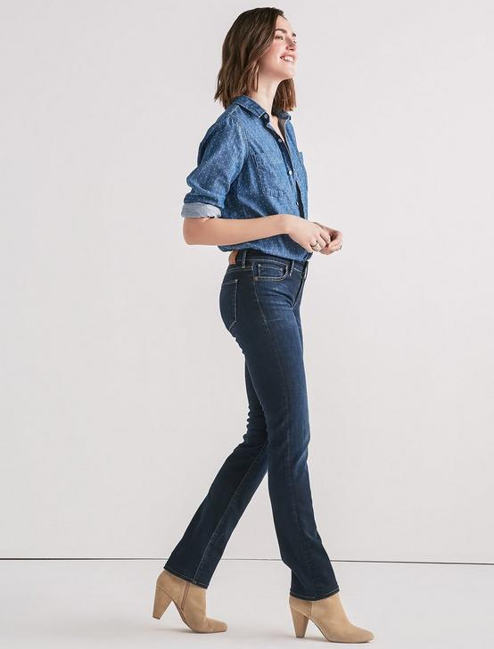 AVA MID RISE STRAIGHT JEAN, TWILIGHT BLUE, productTileDesktop