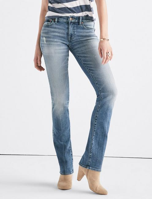 Sweet Mid Rise Straight Jean, ROSEMARY-CL