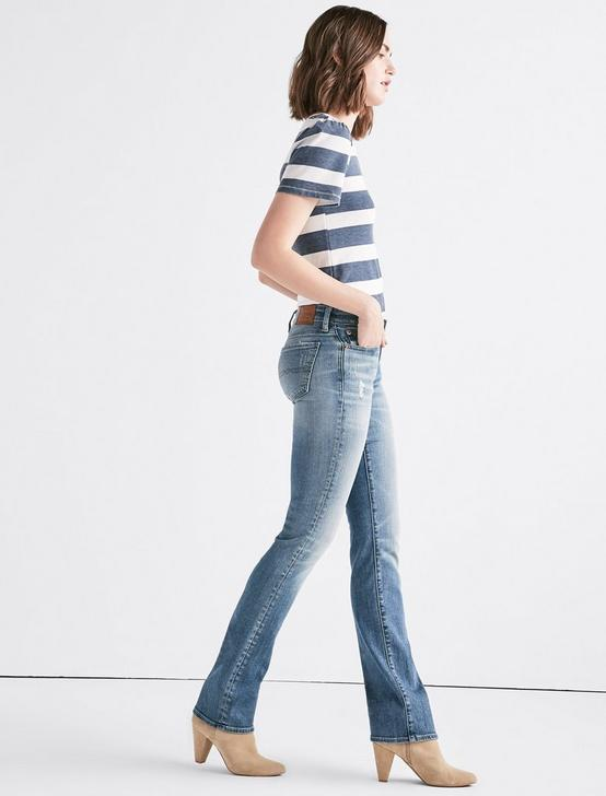 Sweet Mid Rise Straight Jean, ROSEMARY-CL, productTileDesktop