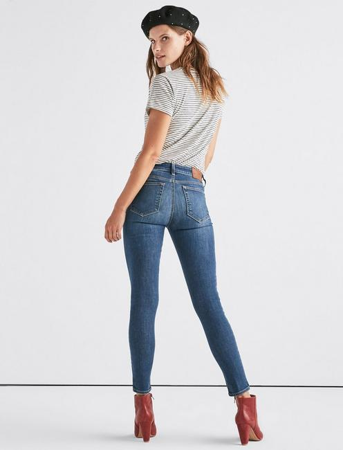 Ava Mid Rise Super Skinny Jean, FAITH