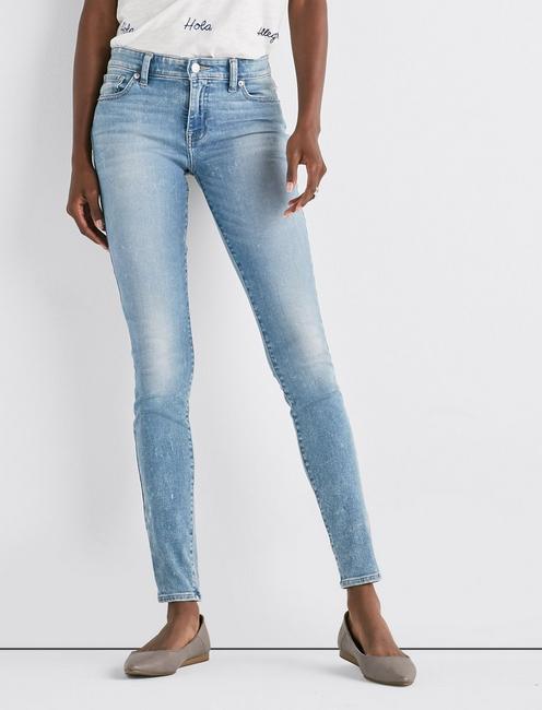 Ava Mid Rise Super Skinny Jean,