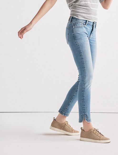 Lolita Mid Rise Skinny Jean with Tulip Hem,