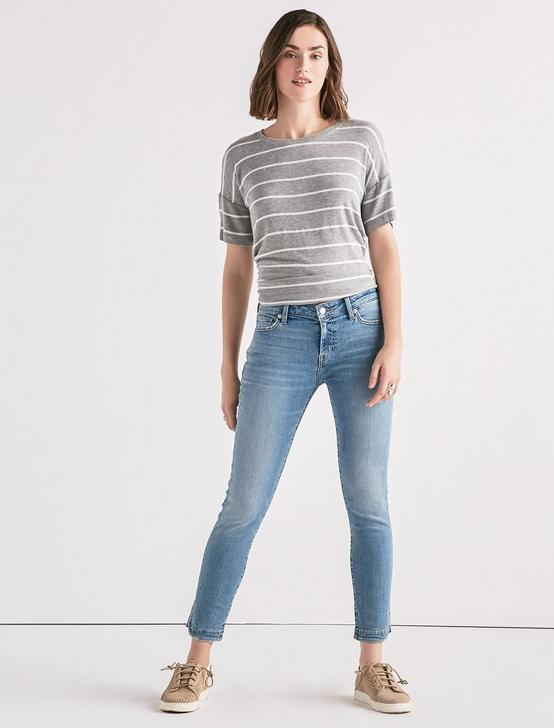 Lolita Mid Rise Skinny Jean with Tulip Hem, WARDLOW, productTileDesktop