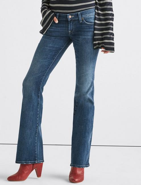 Lil Maggie Low Rise Flare Jean, HASLET