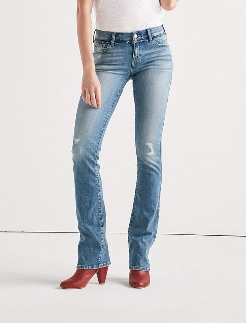 Lolita Mid Rise Boot Jean,