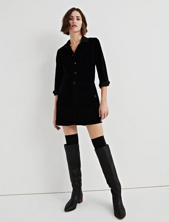 WORKWEAR DRESS, LUCKY BLACK #001, productTileDesktop