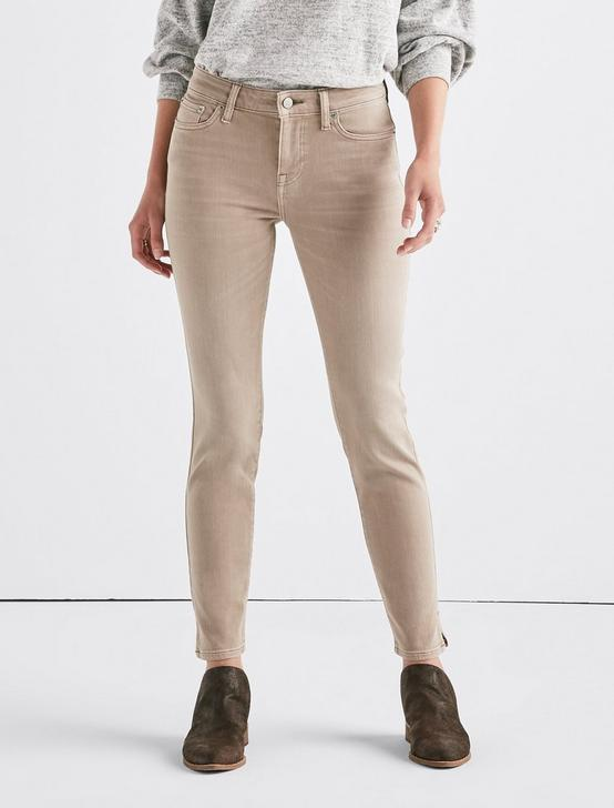 Lolita Mid Rise Skinny Jean with Vent, CINDER, productTileDesktop