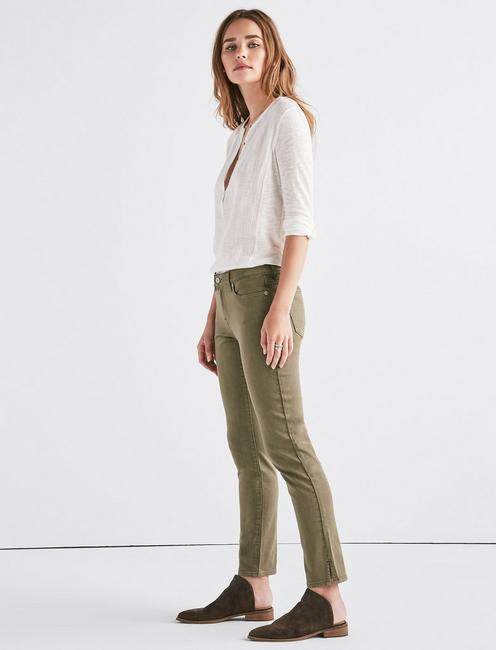 Lolita Mid Rise Skinny Jean with Vent, MOJAVE VALLEY