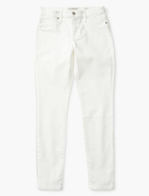 MID RISE AVA SKINNY JEAN, CLEAN WHITE