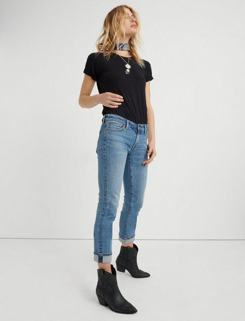 MID RISE SWEET CROP JEAN, LAS CRUCES