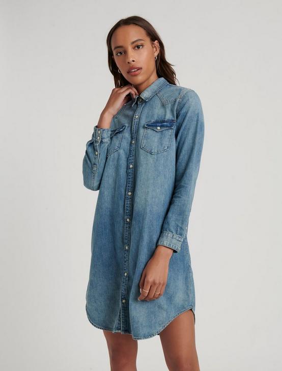 WESTERN SHIRT DRESS, BRENT, productTileDesktop