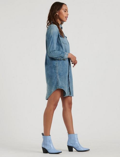 WESTERN SHIRT DRESS, BRENT