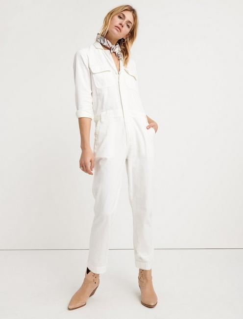 BOILER SUIT, CLEAN WHITE
