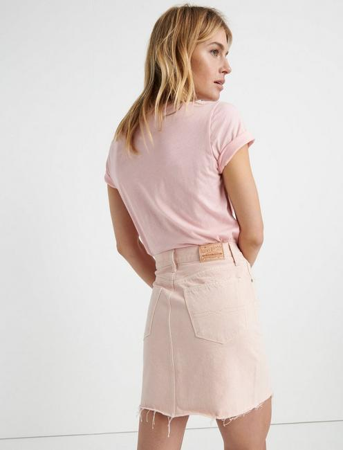 OLD FAVORITE MINI SKIRT, VINTAGE ROSE CT