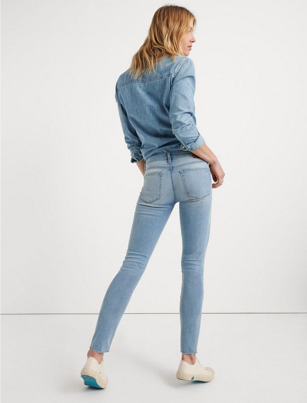 MID RISE AVA SKINNY JEAN, ROGERS CT