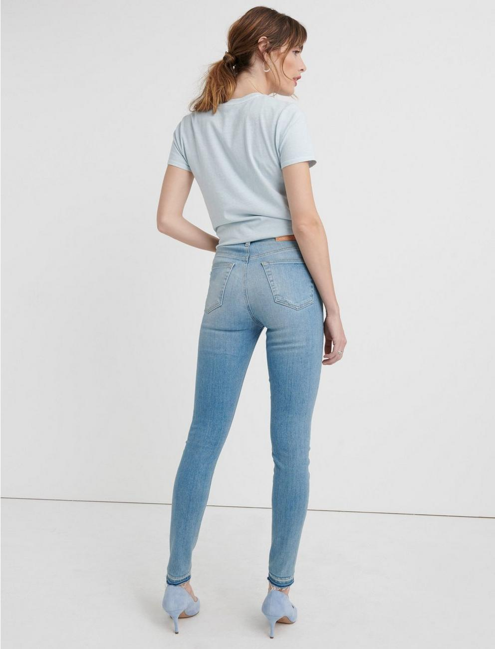 HIGH RISE BRIDGETTE SKINNY JEAN, GALLATIN