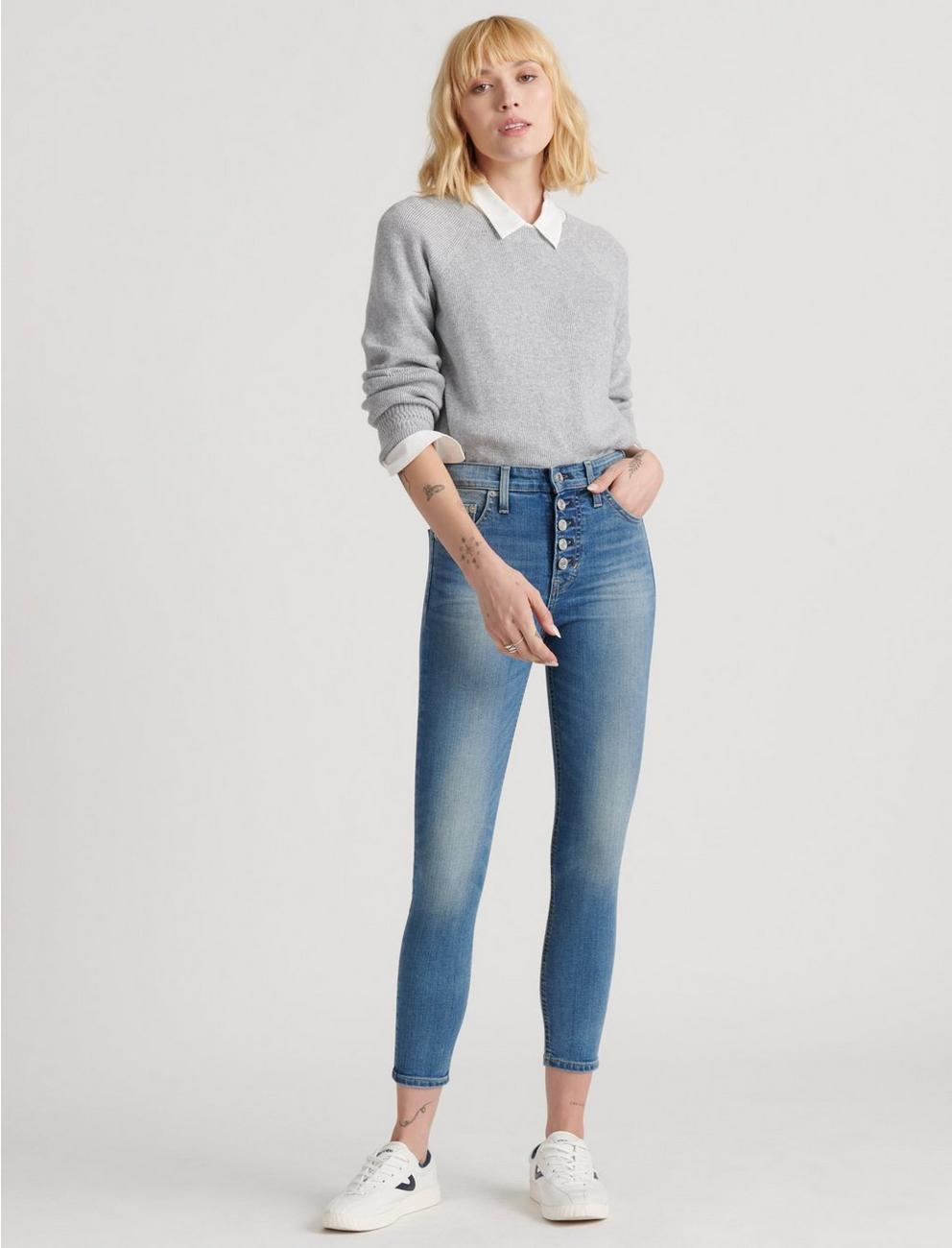 HIGH RISE BRIDGETTE SKINNY JEAN, COLE