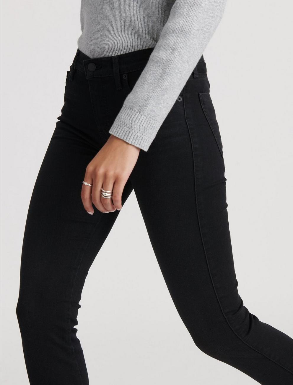 MID RISE AVA SKINNY JEAN, BITTER ROOT