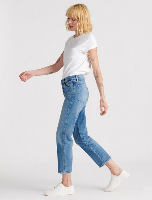 MID RISE AUTHENTIC STRAIGHT CROP, MOGADORE