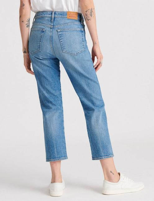 MID RISE AUTHENTIC STRAIGHT JEAN,