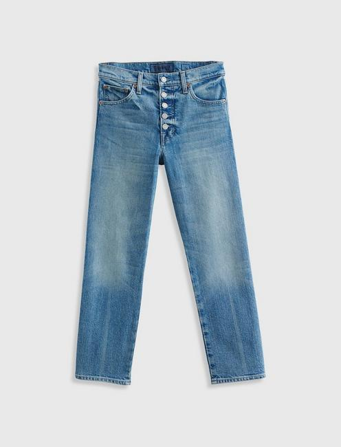 MID RISE AUTHENTIC STRAIGHT JEAN, MOGADORE