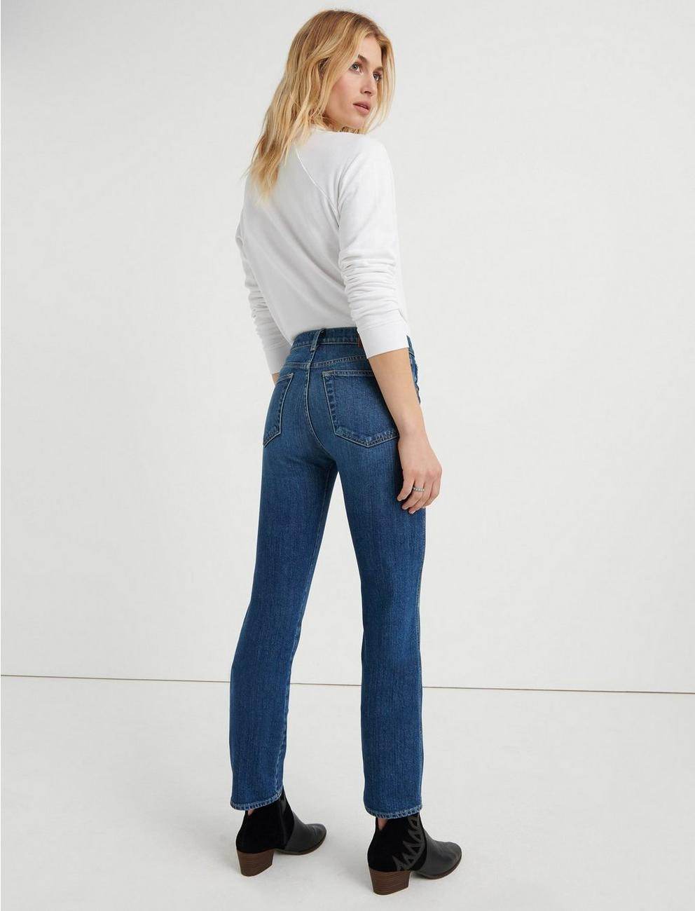 MID RISE AUTHENTIC STRAIGHT CROP, VICTORIA