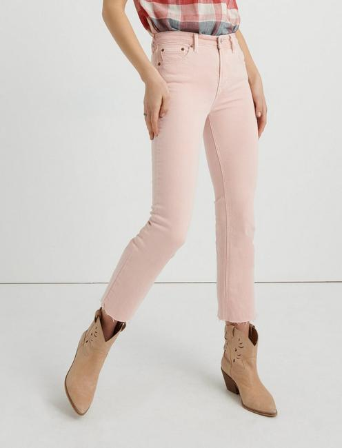 BRIDGETTE CROPPED FLARE, VINTAGE ROSE CT