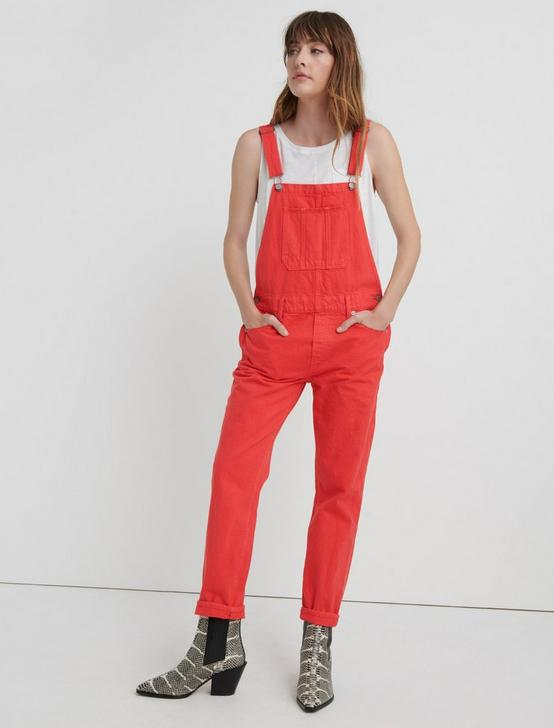BOYFRIEND OVERALL, CHINESE RED, productTileDesktop