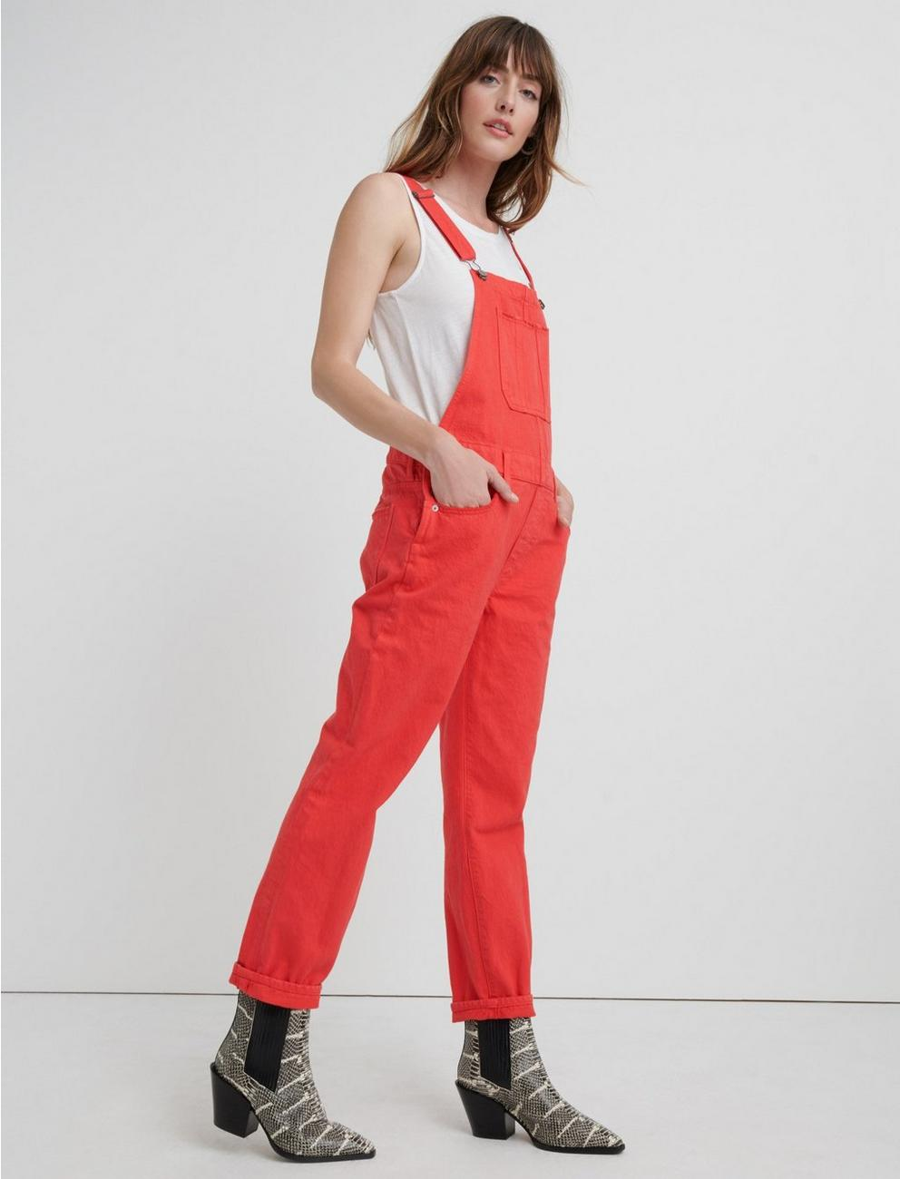 BOYFRIEND OVERALL, CHINESE RED